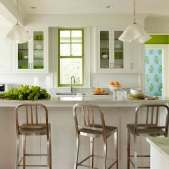 Modern Kitchen Stools Outdoor Frame 10 Trendy Bar And Counter To Complete Your Fresh Accents Of Green In The