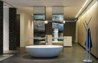 Contemporary Ensuite Bathroom With Cutting-Edge Design in ...