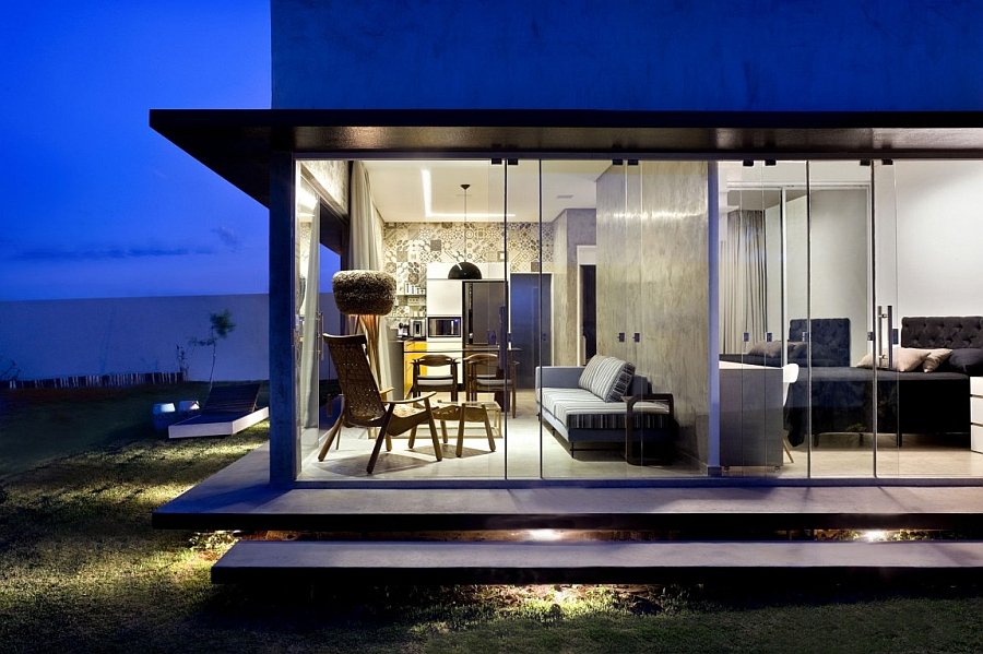 Tiny Designs Brilliant Box House With Bold Interiors