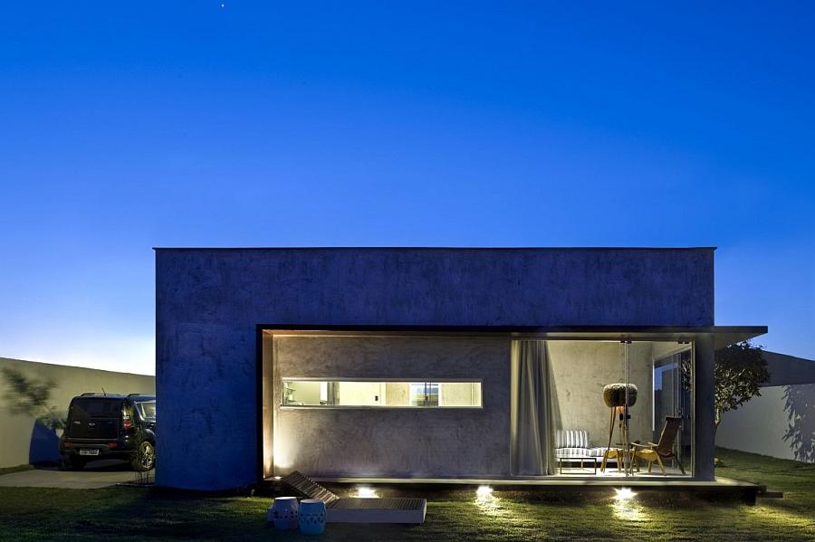 Tiny Designs Brilliant Box House With Bold Interiors