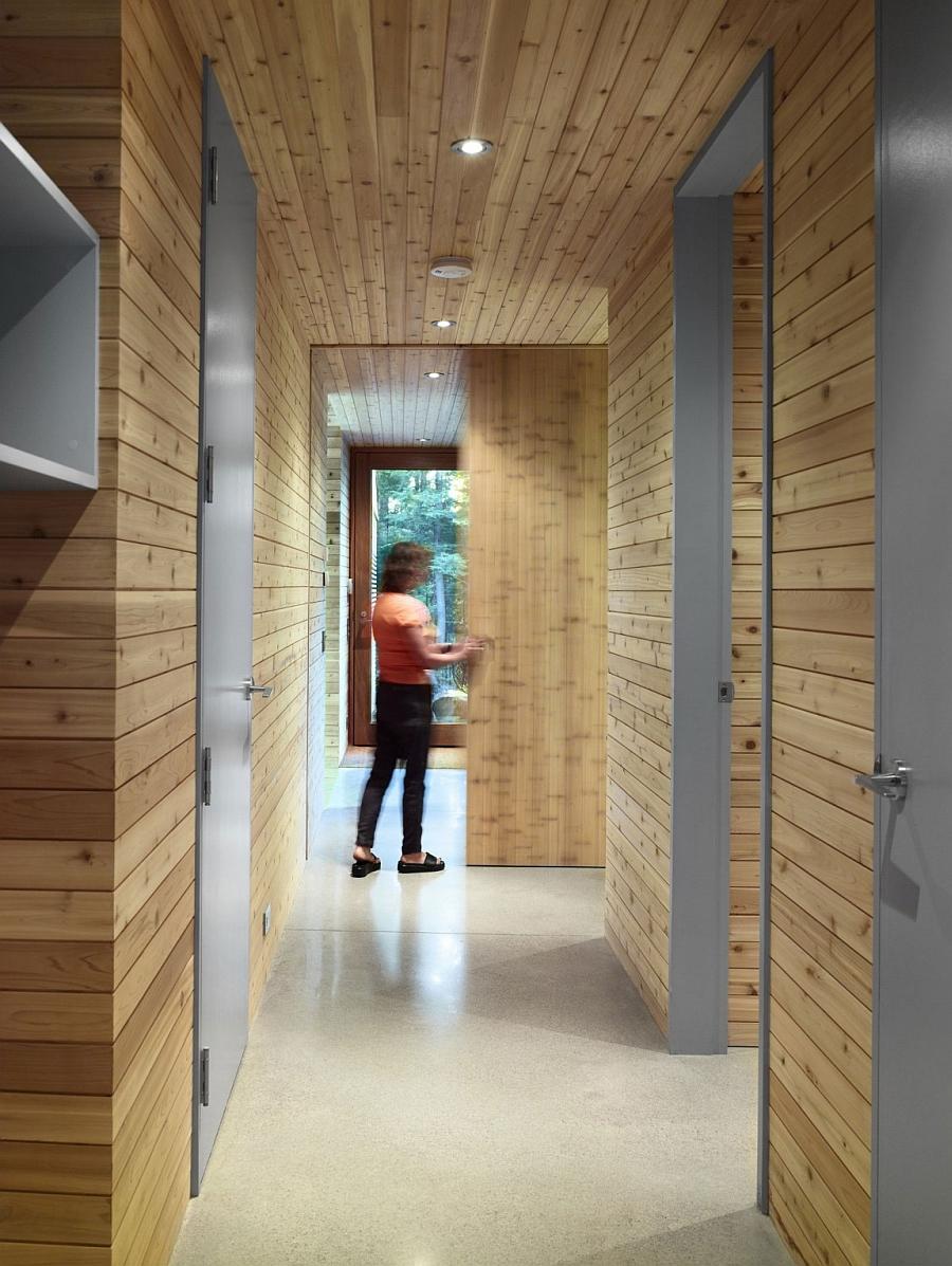 UltraModern Cabin Blends Rustic Warmth With Modern Minimalism