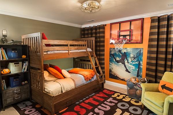 Football Themed Bedroom