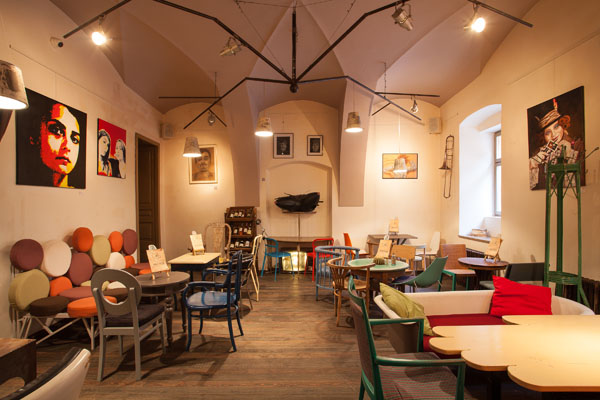 thonet chair styles outdoor fabric mesh eclectic coffee shop design in the heart of transylvania: colaj café