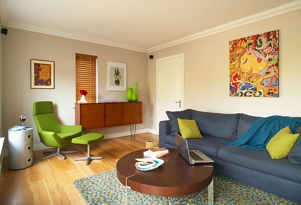 retro living room home decorating ideas walls and decor inspirations for the modern view in gallery colorful quirky