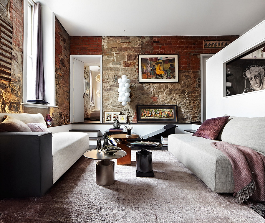 Eclectic Loft In Toronto Blends Contemporary Luxury With