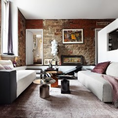 Purple Themed Living Room Ideas Modern Style Eclectic Loft In Toronto Blends Contemporary Luxury With ...