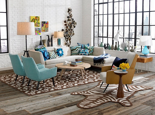 retro living room trends in colors ideas and decor inspirations for the modern home
