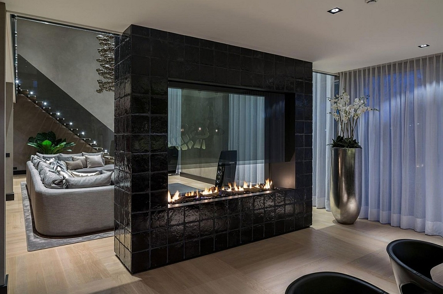 Luxurious Rotterdam Villa Embraces Chic Glamour With Rich