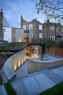 Modern Extension Victorian House In London With