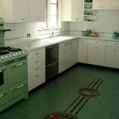 Kitchen Floor Lino Tiny Kitchens Retro That Spice Up Your Home
