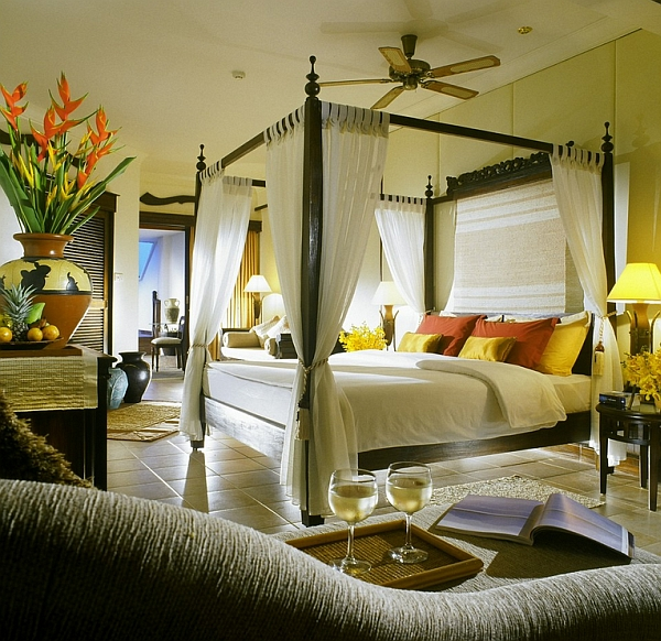 beautiful tropical bedroom design Romantic Bedrooms: How To Decorate For Valentine's Day