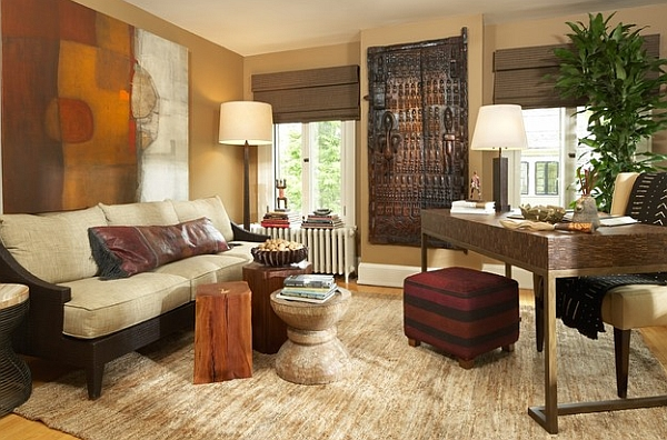 african style living room design buy furniture inspired interior ideas view in gallery rustic stools and wall art usher teh here