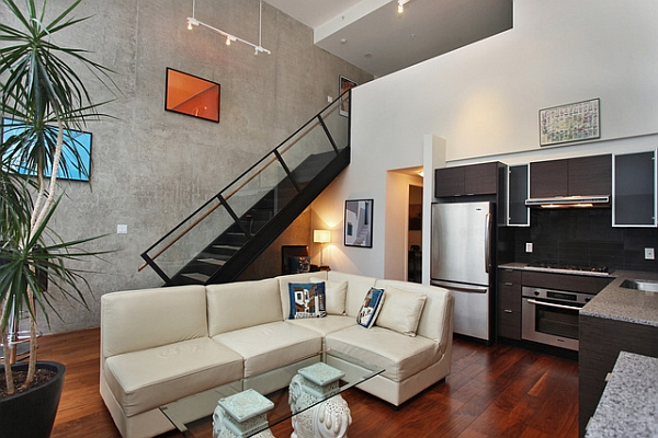 new york loft style living room photo interior design industrial brings a dash city charm to downtown vancouver view in gallery small idea for an