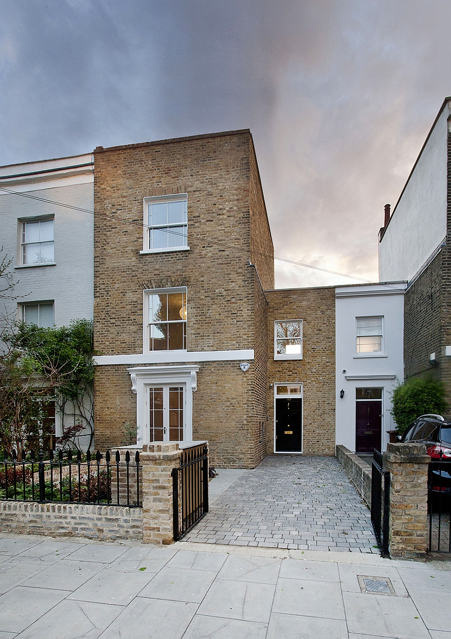Modern Extension To A Victorian House In London Comes With A