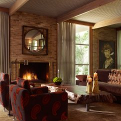 How To Decorate A Living Room With Fireplace Redecorating Paisley Patterns And Decor Ideas
