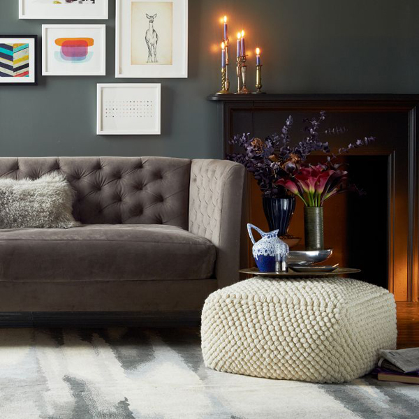 pouf in living room paint for the add comfort to your home with floor pillows and poufs view gallery img12o