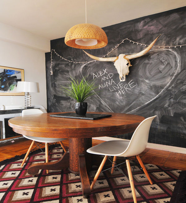 DIY Chalk Walls For Any Artistic Living Space