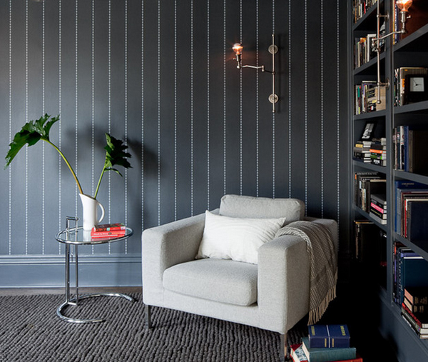 Bold And Beautiful Black And White Stripes In Every Room