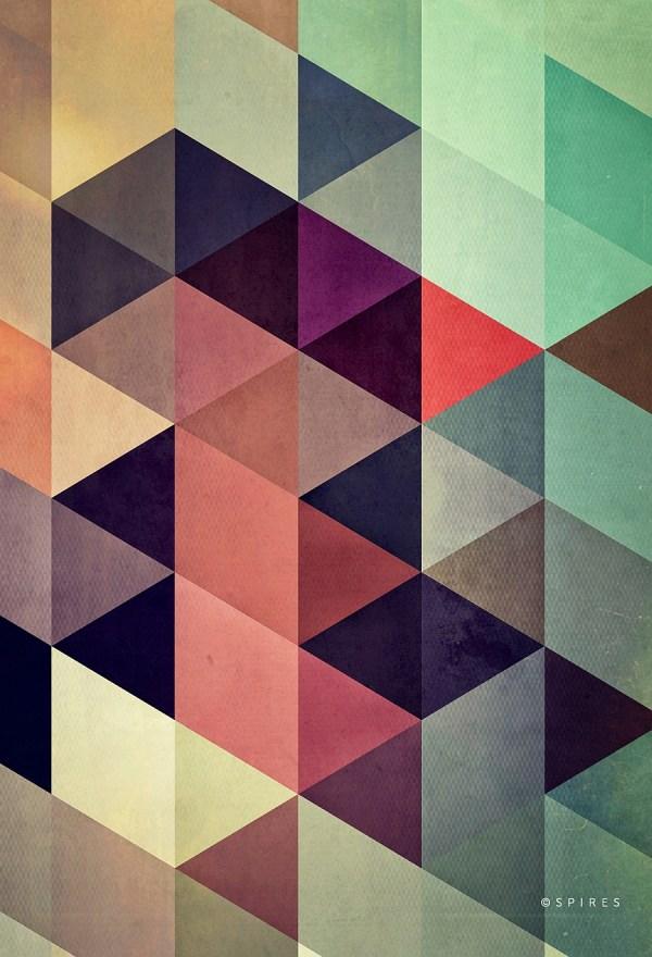 Geometric Pattern Wall Tiles