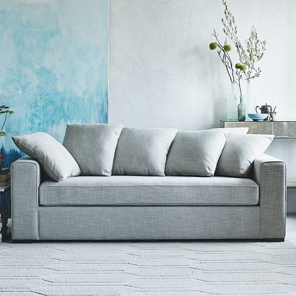 craftmaster sectional sofa reviews eco linen sleeper loose pillow back nice large pillows with ...
