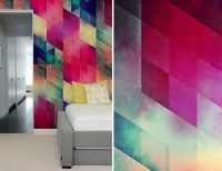 geometric designs for walls 2017 - Grasscloth Wallpaper