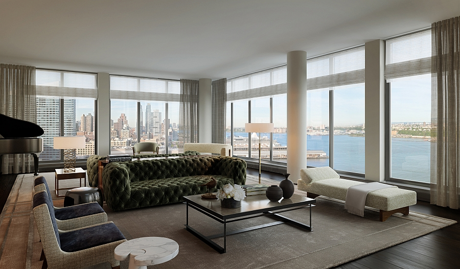 Luxury Waterfront Condominium With Expansive Views of NYC Skyline One Riverside Park