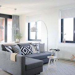 How To Paint Your Living Room Quantum Tan Sectional Stylish Colors And Ideas For View In Gallery Scandinavian White