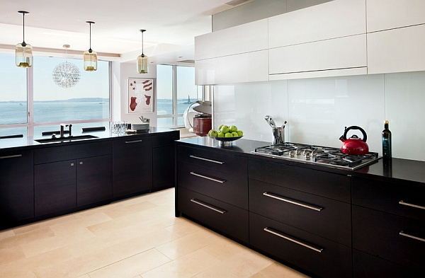 kitchen black cabinets honest reviews the 9 most popular colors to pick from view in gallery sensible combination of and white
