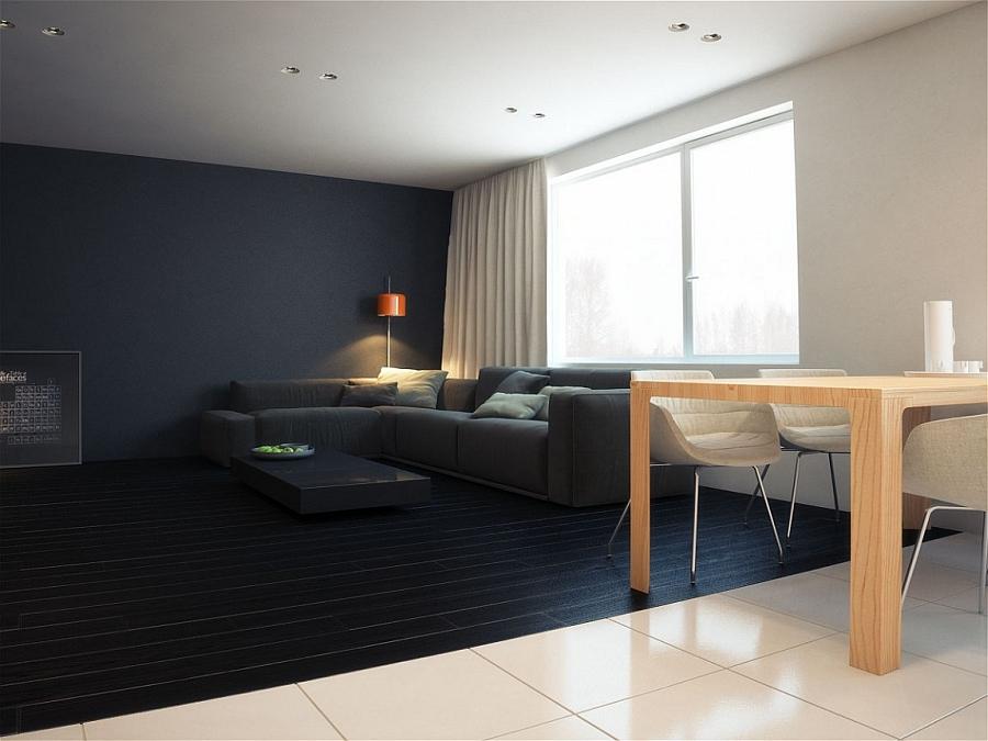 Contemporary Minimalist Apartment In St Petersburg Exudes