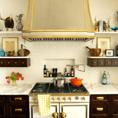 Tile Backsplash Ideas For Kitchen How Much Do Cabinets Cost Brass Hardware And Fixtures Are Back!