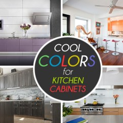 Paint Colors Kitchen Crosley Cart Cabinets The 9 Most Popular To Pick From View In Gallery Cool