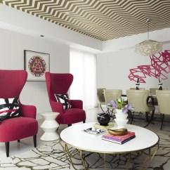 Glam Sofa Sofas Ta Quatro Opiniones Design Trend: Wallpaper Featured On The Ceiling