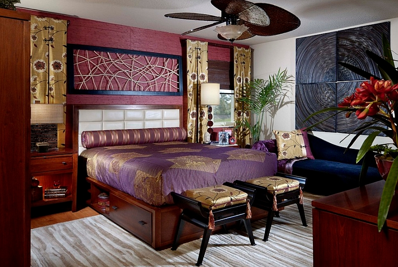 Asian Themed Bedroom