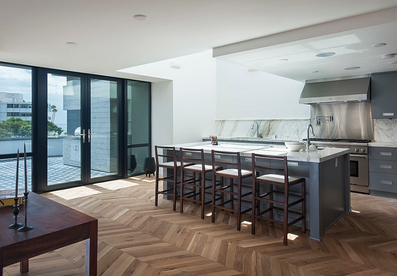 track lighting for kitchen cabinets discount zigzag patterns in kitchen: chevron and herringbone