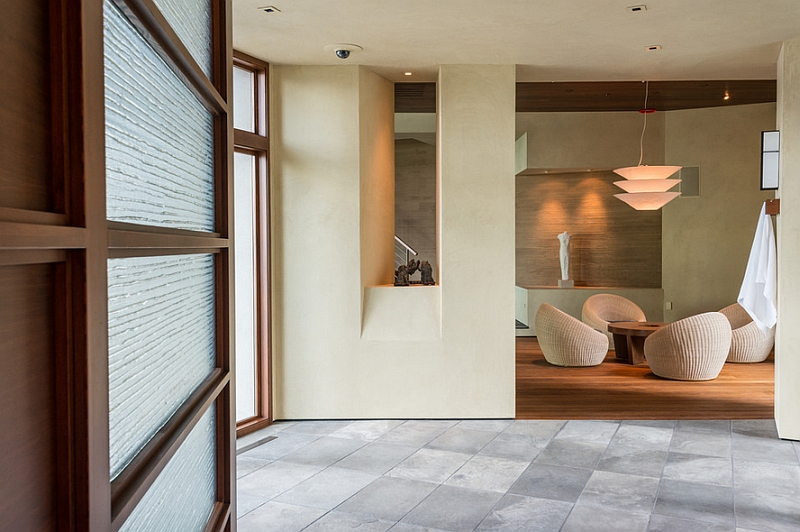 Japanese DesignInspired Pool House And Spa Showcases