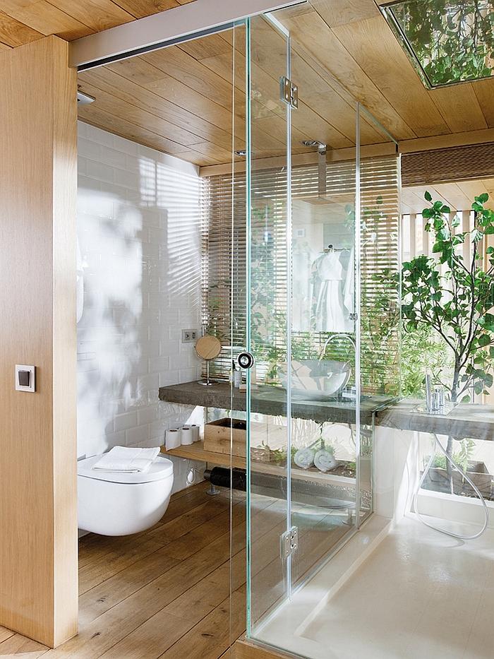 Exclusive Industrial Loft in Barcelona Invites Nature Indoors