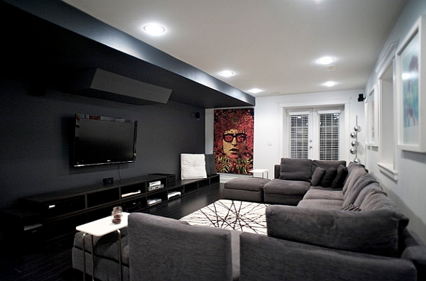 ... Black White And Grey. 50 Minimalist Living Room Ideas For A Stunning  Modern Home Part 89
