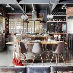 Interior Design Ideas Living Room Pictures Shop For Furniture Exclusive Industrial Loft In Barcelona Invites Nature Indoors!