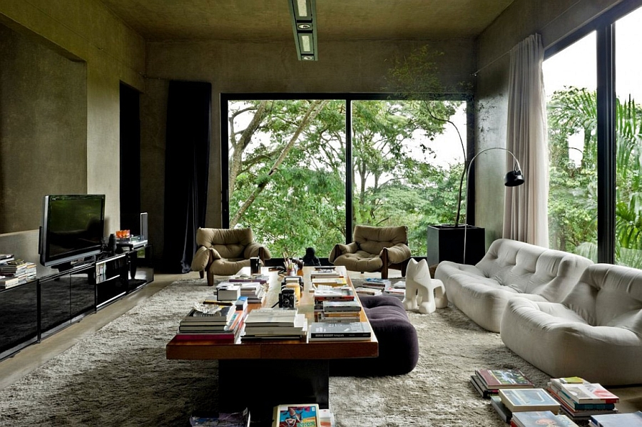 Charming Industrial House In Brazil With A Daring Splash