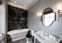 Black And White Bathrooms: Design Ideas, Decor And Accessories