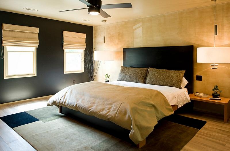 Minimal Japanese Bedroom Design Idea With Warm Colors