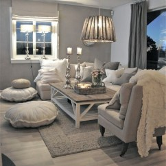 Cushions Living Room With Carpet Design Ideas Have A Seat 10 Floor That Will Make You Want To View In Gallery Soft Cozy White Jpg