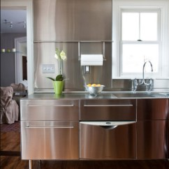 Stainless Steel Kitchen Vintage Looking Appliances Kitchens Ideas Inspiration Pictures View In Gallery Design