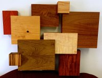 Wooden Wall Art With Modern Flair