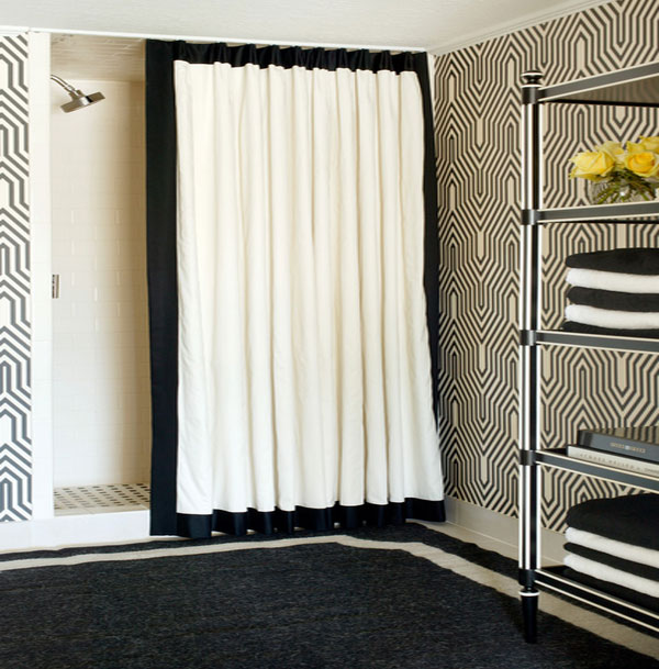 Shower Curtains Made From Burlap Silk And More!