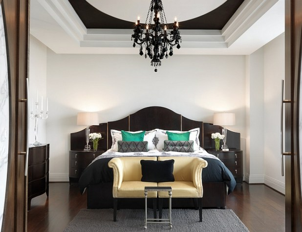 black and white bedroom | Nrtradiant.com