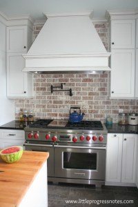 Brick Backsplashes: Rustic And Full Of Charm | Home Design