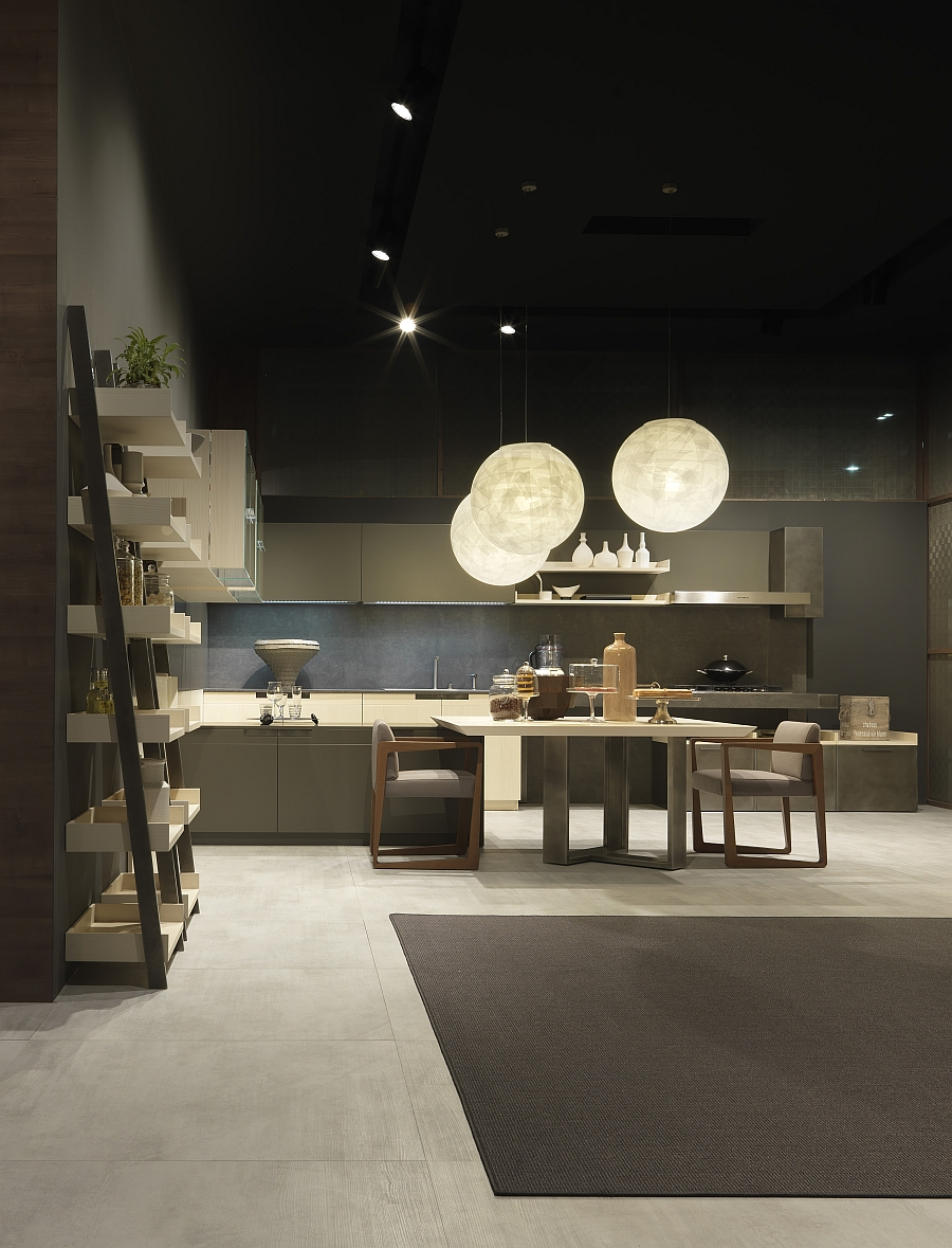White Small Kitchens Modern Italian Kitchen Designs From Pedini