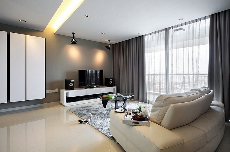 Sheer Curtains Ideas Pictures Design Inspiration. Image Of Modern Curtains  For Living Room Formal