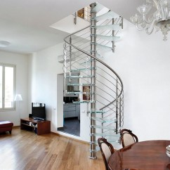 Step 2 Chair Dining Covers Australia Enthralling Glass Staircases That Add Sculptural Style To Your Home